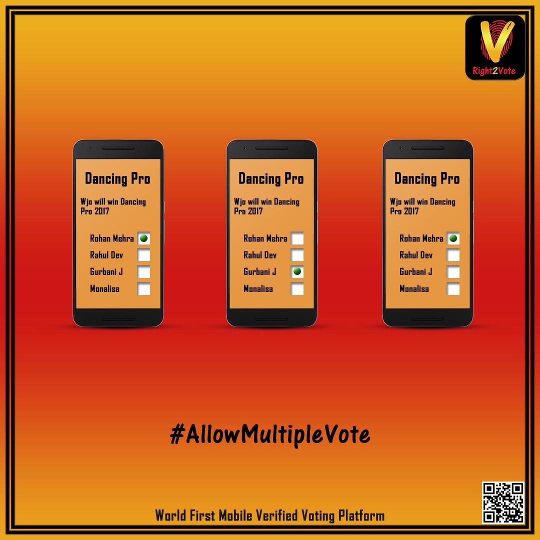 Allow Multiple Votes