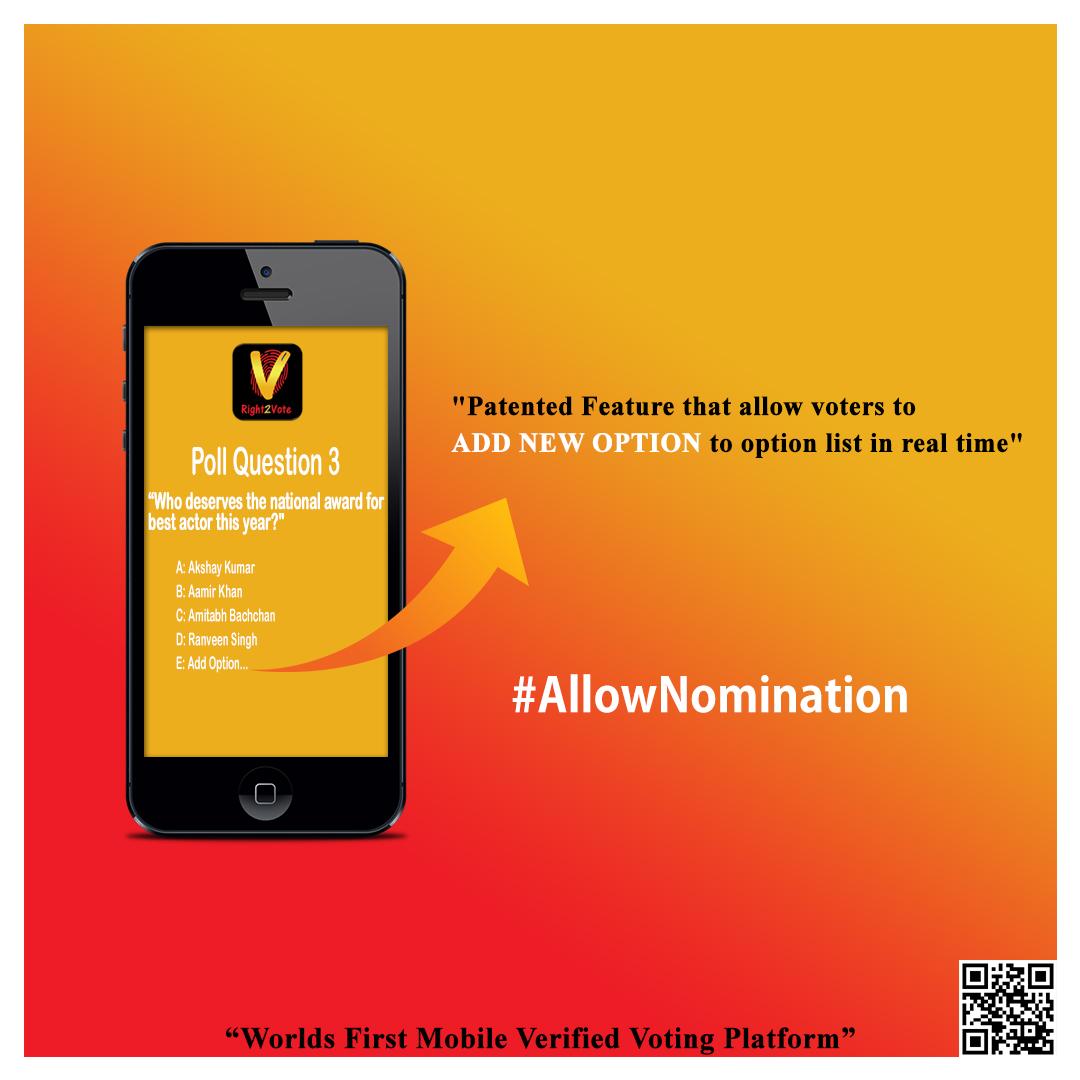 Allow Nomination