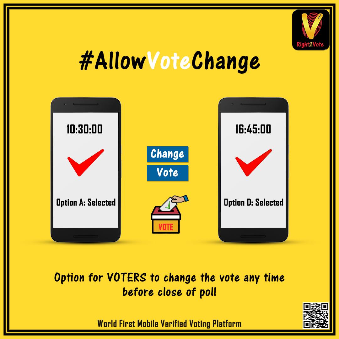 Allow Vote Change