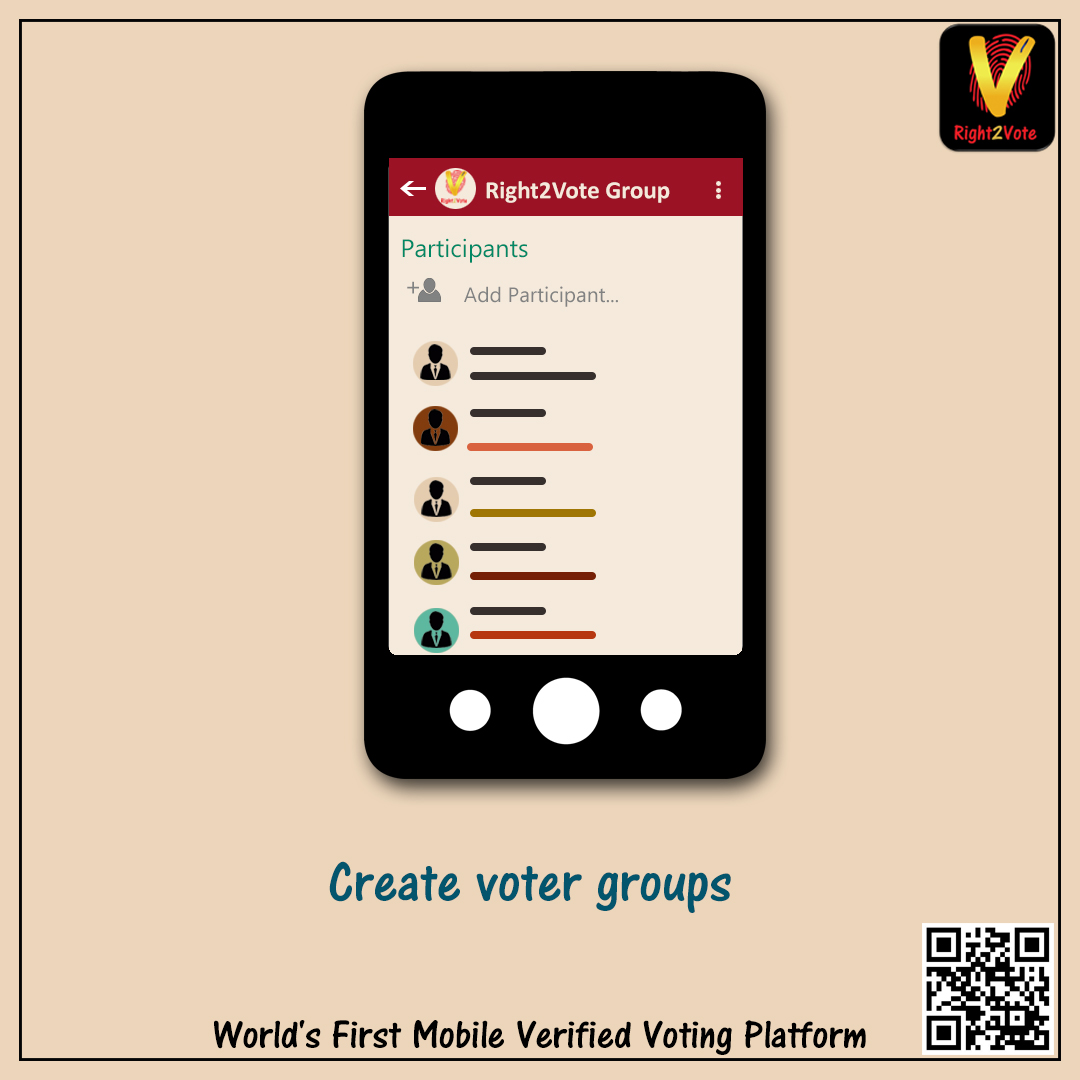 Create Voter Group