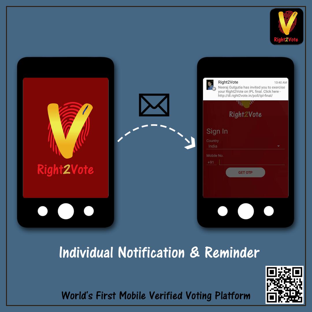 Individual Notification and Reminder