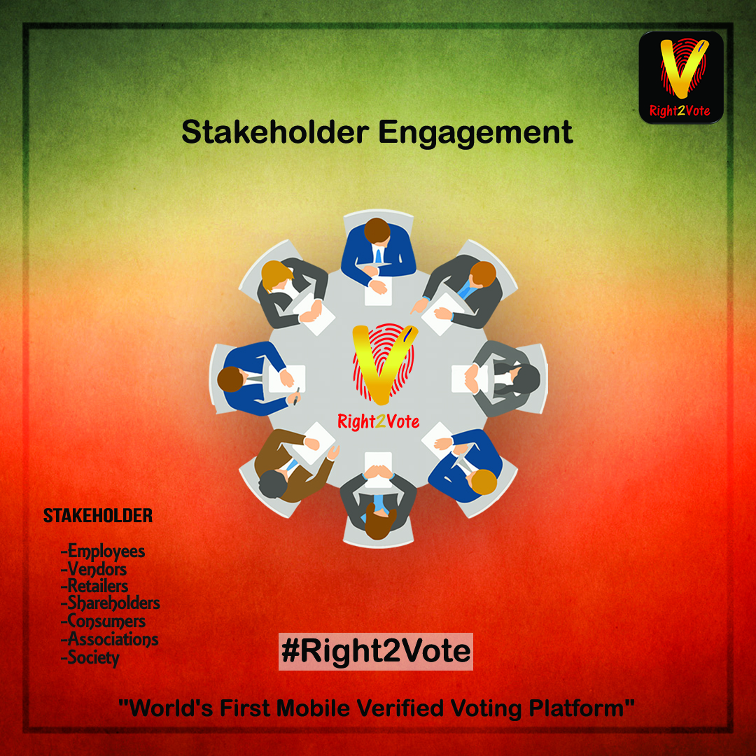 Right2Vote Stakeholder Engagement